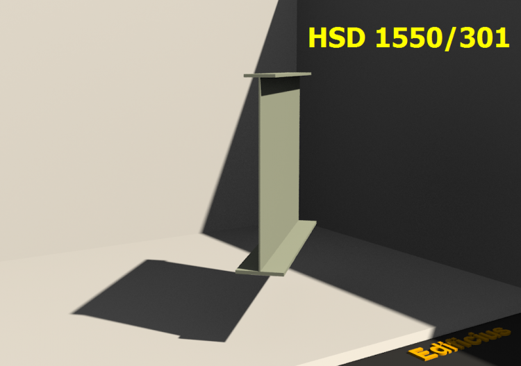 Perfiles soldados 3D - HSD 1550/301 - ACCA software
