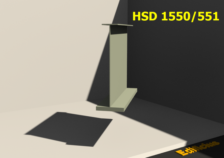 Welded Profiles 3D - HSD 1550/551 - ACCA software