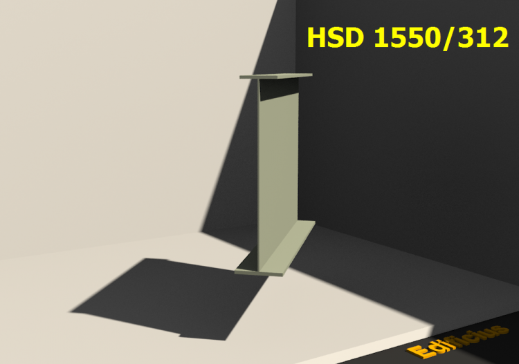 Welded Profiles 3D - HSD 1550/312 - ACCA software