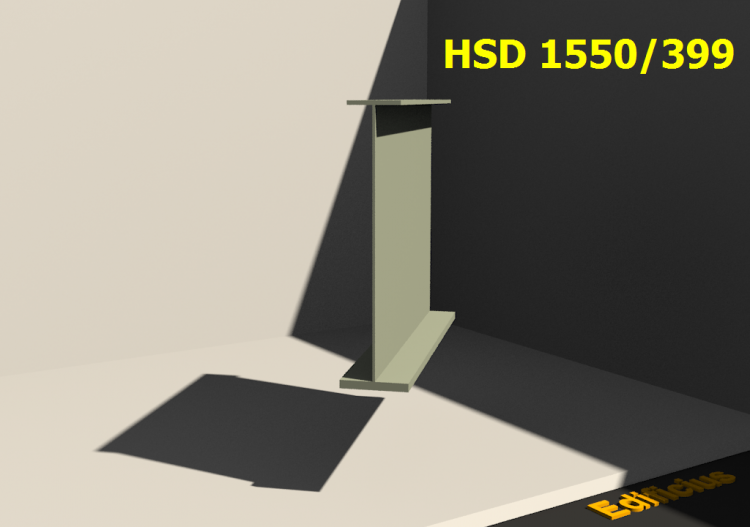 Welded Profiles 3D - HSD 1550/399 - ACCA software
