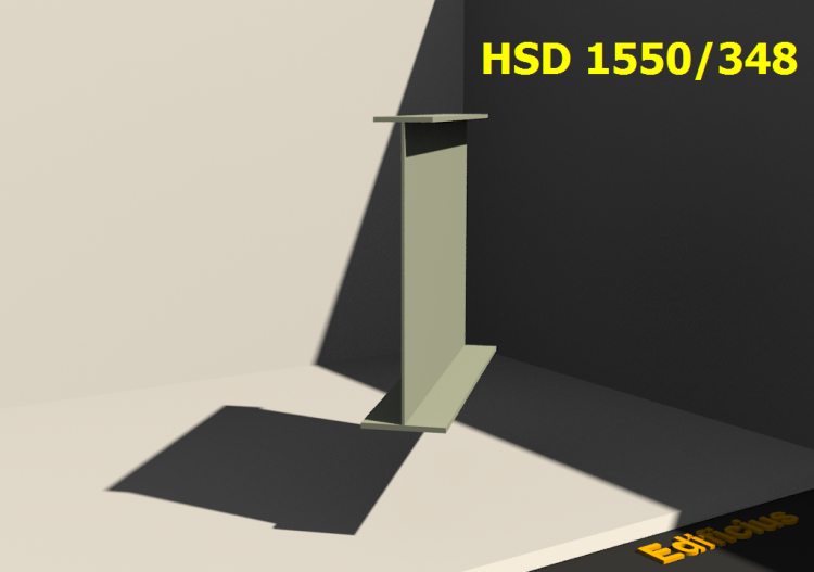 Welded Profiles 3D - HSD 1550/348 - ACCA software
