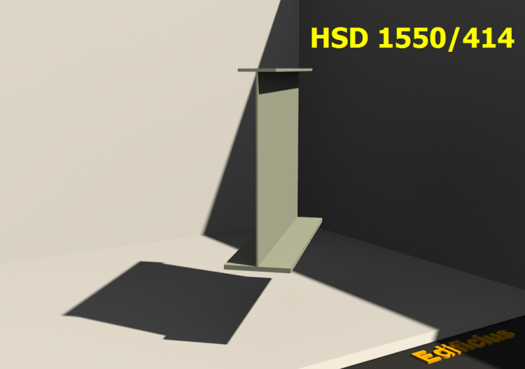 Perfiles soldados 3D - HSD 1550/414 - ACCA software
