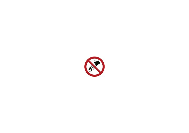 Signs - Do not extinguish with water - ACCA software