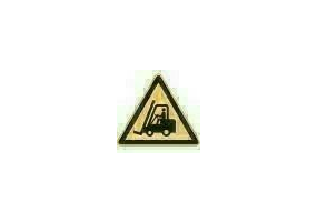 Signs - Danger forklifts and other industrial vehicles