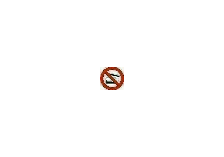 Signs - No entry with magnetic objects - ACCA software