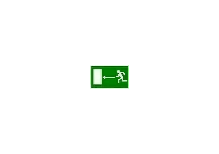 Signs - Emergency exit (1) - ACCA software
