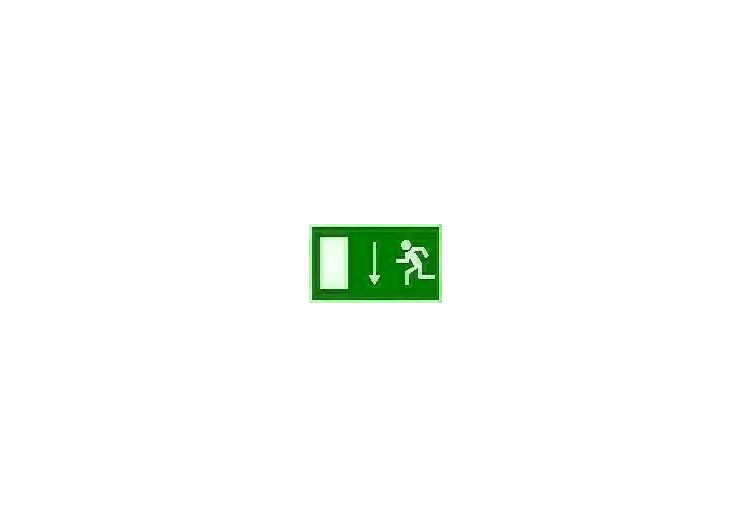 Signs - Emergency exit (2) - ACCA software