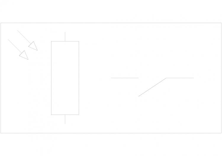 Elektrische Symbole DWG - Dämmerungsschalter - ACCA...