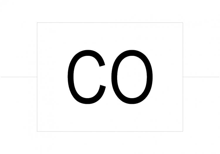 dwg electrical symbols - carbon monoxide detector