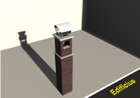 3D Chimneys - Masonry (01)