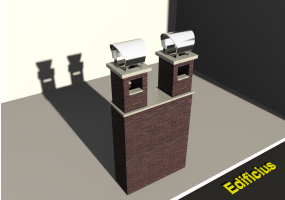 3D Chimneys - Masonry (02)