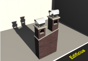 3D Chimneys - Masonry (04)