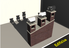 3D Chimneys - Masonry (05)