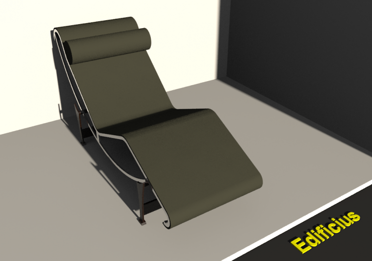 Chaise Longue Le Corbusier - ACCA software