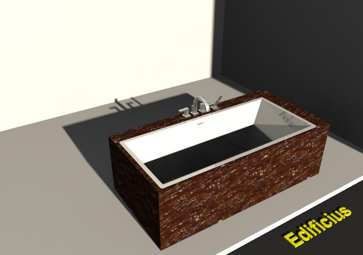 Vasca da bagno 4 con rivestimento acca software - Rivestimento vasca da bagno ...