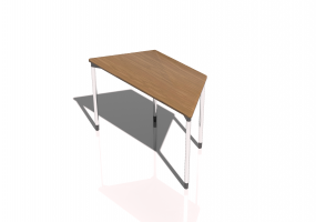 Mesa 3D - Map Table 120x60 trapecio
