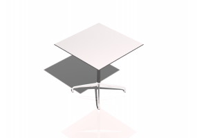 Tavolo 3D - Tavolo quadrato 75cm - Vitra Contract Table