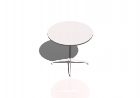 Table 3D - Contract Table Rond