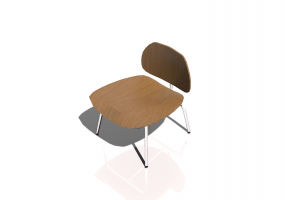 Fauteuil 3D - Plywood Chair LCM