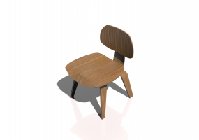 Fauteuil 3D - Plywood Chair DCW