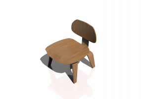 Fauteuil 3D - Plywood Chair LCW