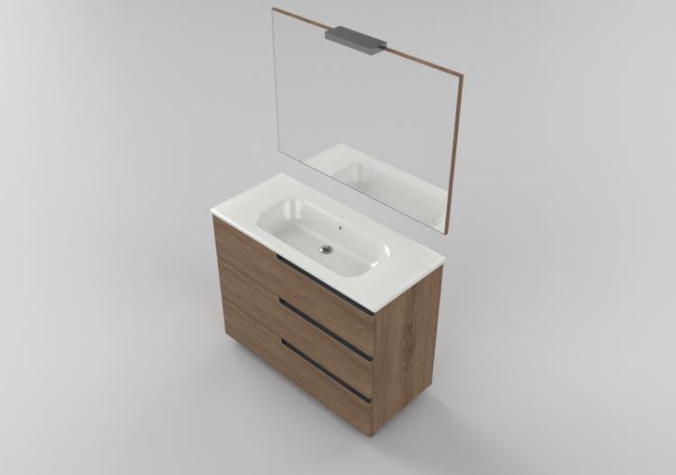 Furniture Wash Basin Base Unit