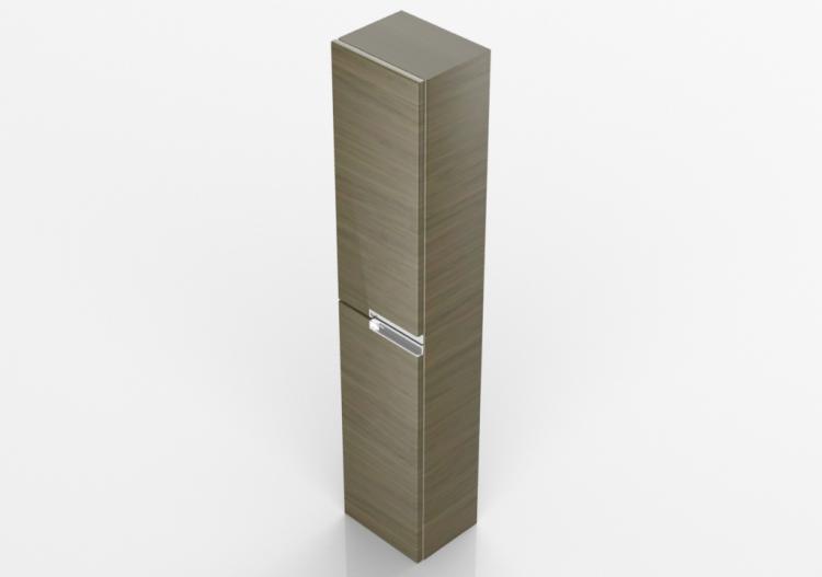 Arredobagno colonna disponibile in bianco viola grigio tavolato