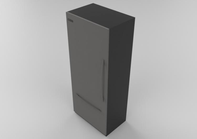 Elettrodomestici 3D - Frigorifero da incasso - Whirlpool...