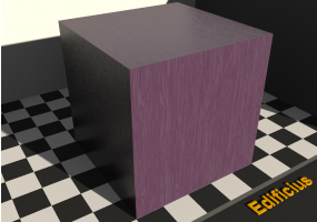 Wood Texture - Red lilac