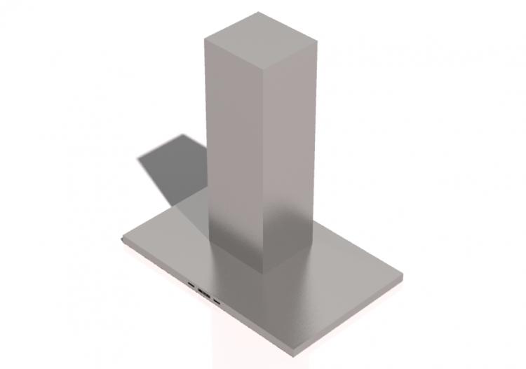 3D - Cappa da cucina - ACCA software