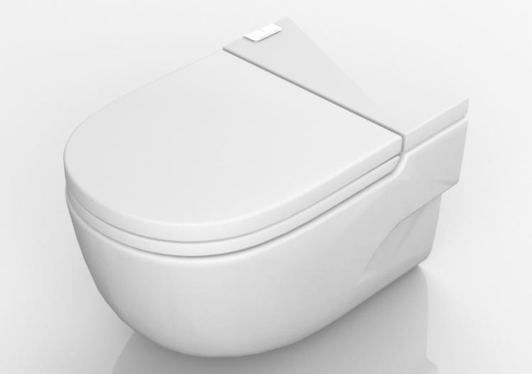 D wc hängende toilette acca software