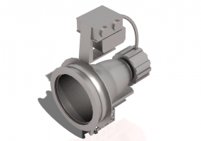 3D Lamp - Ground mounted Spotlight