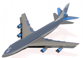 Boats, Planes and Trains 3D - Boeing 747