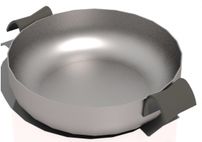 Pans and Containers 3D - Pan