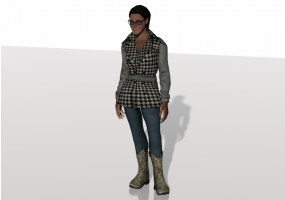 3D People - Heather
