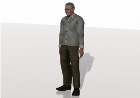 3D People - Fred