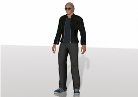 3D People - Peter