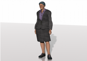 3D People - Connie