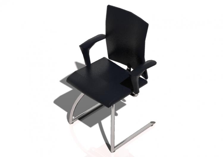 Chaises d chaise de bureau en tissu et acier cgm hÅg