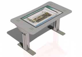 Touch screen desk - CGM - D3
