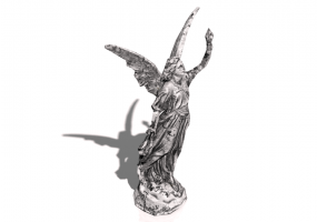 3D Accessories - Angel of Light Statue