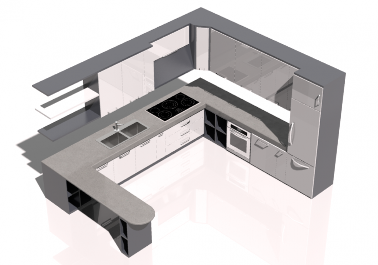 mobili 3d cucina 360 mcdesign mod bonny acca software On mobili 3d