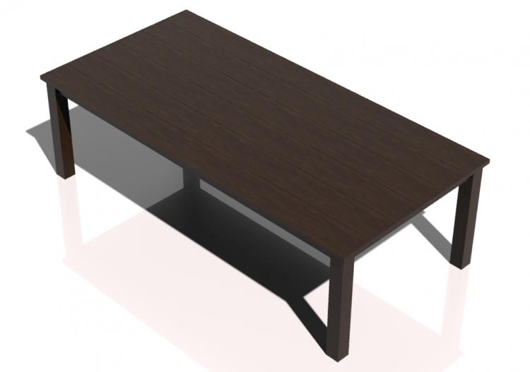 tavoli 3d tavolo in legno massello 260x125x80cm sierra