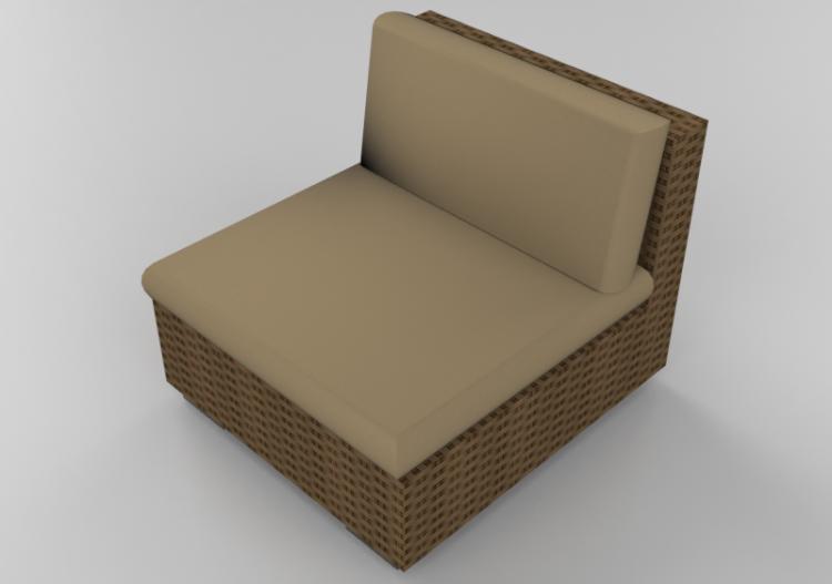 Sedie In Midollino.Sedie 3d Poltrona In Vimini Acca Software