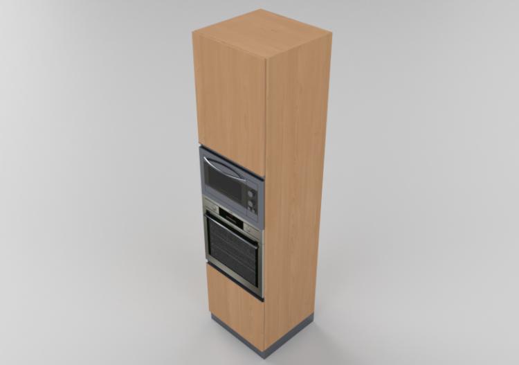 Colonne 3D - Colonna forno e microonde 60x240cm - ACCA...