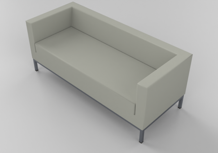 Chairs And Sofas 3d 2 Seater Leather Sofa Giulio