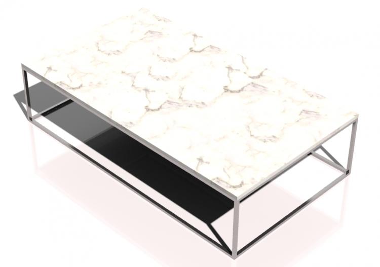couchtisch tisch wohnwert couchtisch metal ausziehbarer wei redstone wildeiche edelstahl. Black Bedroom Furniture Sets. Home Design Ideas
