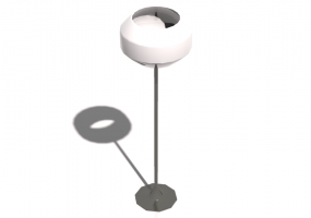 3D Stehlampe - Stehlampe - Natuzzi - Armstrong - L475