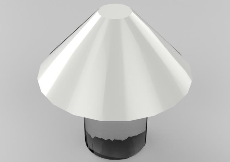 Natuzzi de Lámparas Alega de mesa mesa 3D Lámpara rdCxeBo