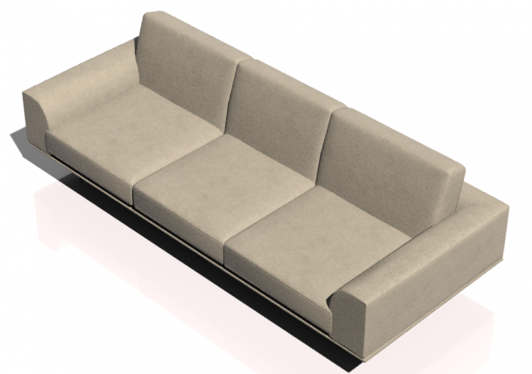 Poltronas y sof s 3d sof tres plazas de piel natuzzi for Sofas de cuero natuzzi